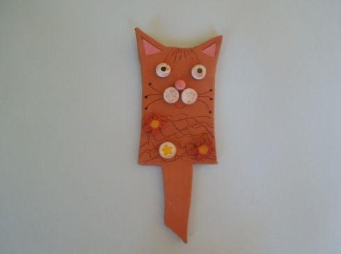Zapichovací kočička - keramika Co kus, to originál.