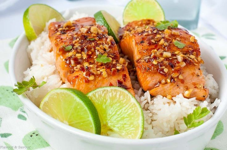 Easy Honey Chili Lime Glazed Salmon. You're going to love this Chili Lime Glazed Salmon. Why? The glaze needs only 4 ingredients that you probably already have in your home and it takes only 15 minutes to cook.