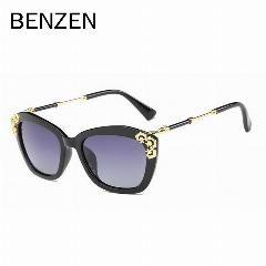 [ 18% OFF ] Benzen Vintage Sunglasses Women Brand Design Polarized Female Sun Glasses Retro Ladies Shades Driving Glasses With Case 6261