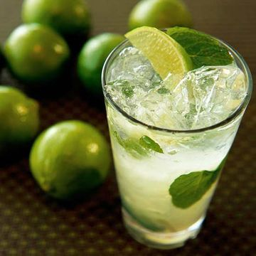 First Trimester: Ginger-Lime Sparkler