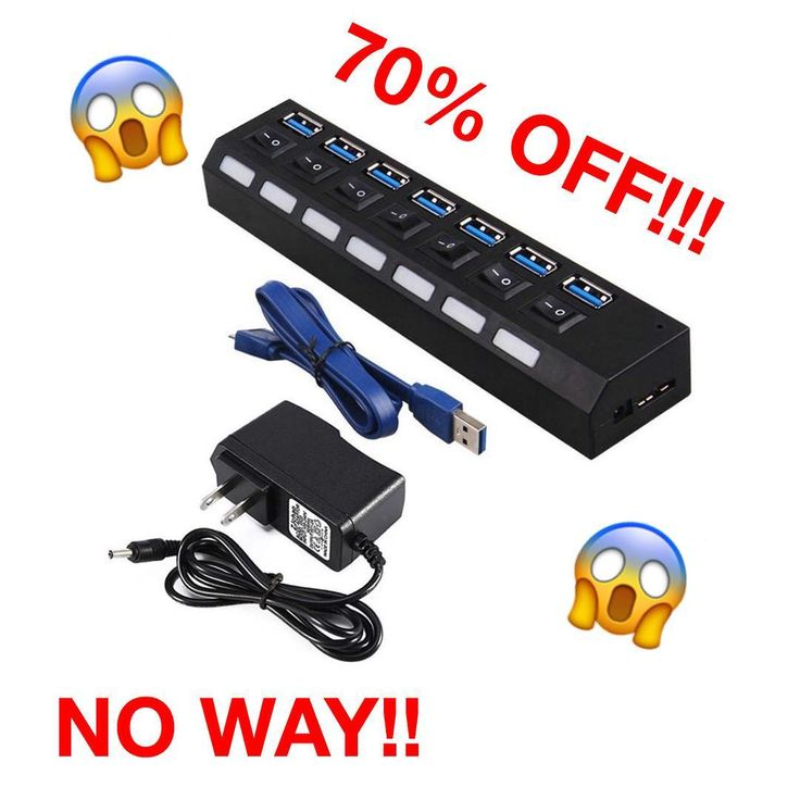 this 7 port usb hub is perfect for expanding transferring your data and charging your needs never run out of ports again 70 off limited quantity - Computertische Fr Spieler