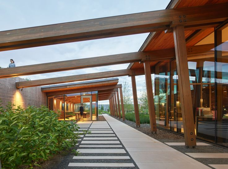 Graham Baba Architects took cues from rural vernacular architecture while conceiving the headquarters for the Washington Fruit and Produce Company.