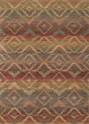 Rug By Shaw Floors Canberra Ikat In Color Multi 55440