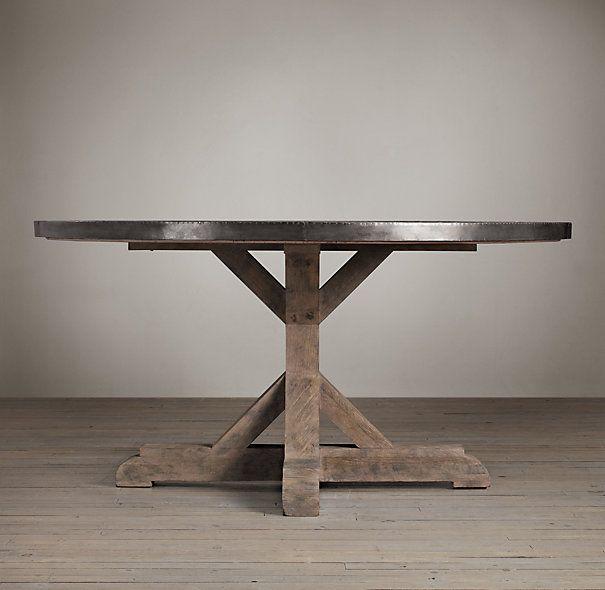 As 25 melhores ideias de Circle table no Pinterest Copa  : f5f05b71126baec7e3fb85ad79ed544d railroad ties round dining tables from www.pinterest.pt size 605 x 590 jpeg 35kB