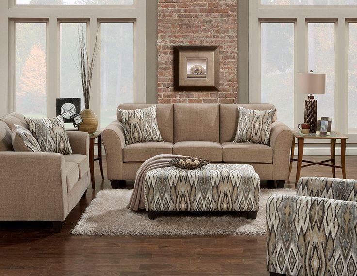 Chic Mocha Living Room Set – 5000