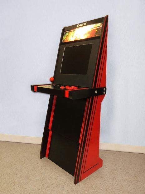 A Super Easy Arcade Machine from 1 Sheet of Plywood, via Instructables