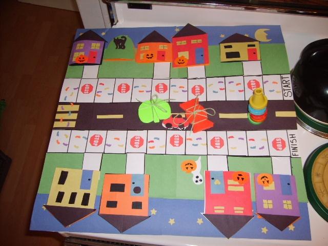 Halloween safety game (school aged)