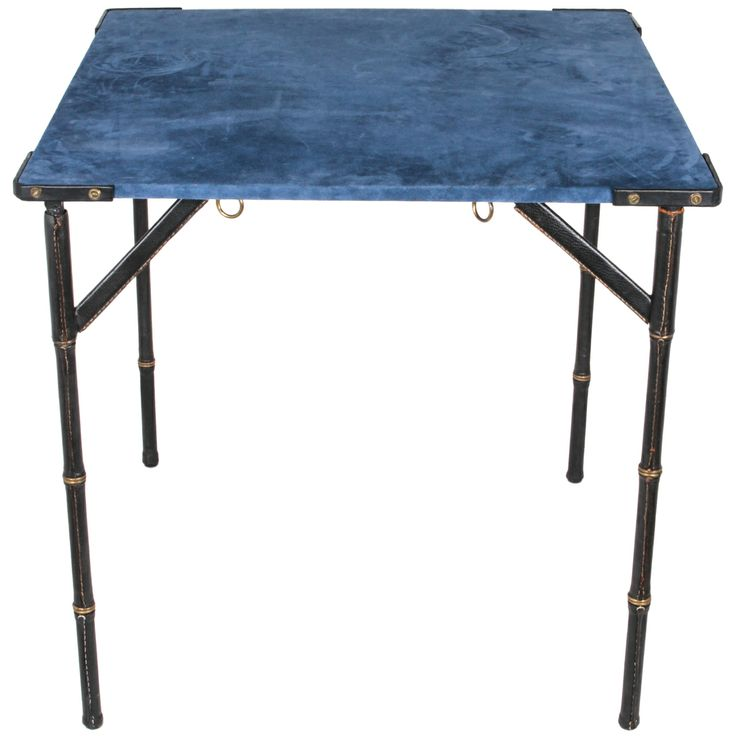 Game Table By Jacques Adnet