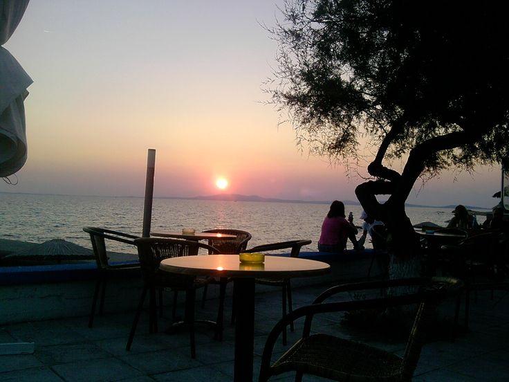 Fanari beach in Komotini-Greece
