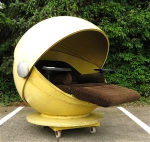 Outdoor Lounge Sessel Modell Sunball, Deutsches Design Von Herbert Selldorf  U0026 Gunter Ferdinand Ris Für