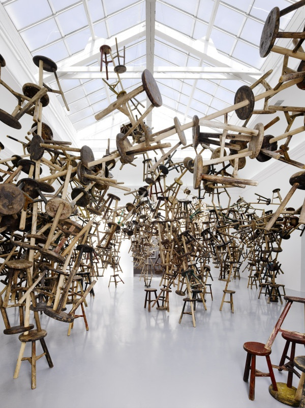 "#ART   55th Venice Biennale, 2013.   ""Bang"" by Ai Weiwei   German Pavilion"