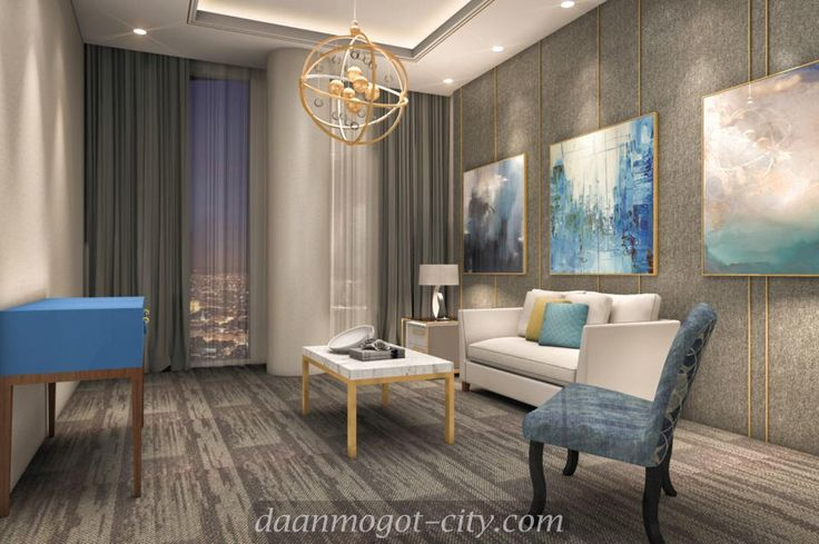Design interior apartemen DAMOCI