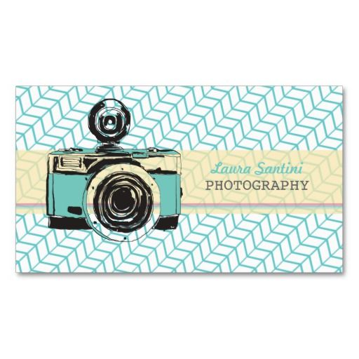 12 best business cards images on pinterest photographer business vintage camera photographer business cards reheart Choice Image