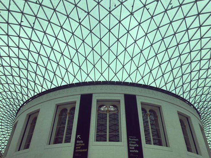 "93 Likes, 3 Comments - Sarah (@mrssarah_s) on Instagram: ""Day 4 - geometric. The ceiling at @thebritishmuseum today #fmsphotoaday #fms_geometric #london…"""