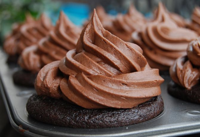 "Killa Chocolate Cupcakes. Seriously!!! Recipe ~ Says: ""This is the best chocolate cupcake you will ever eat! This cupcakes will bring you to the point of no return."""