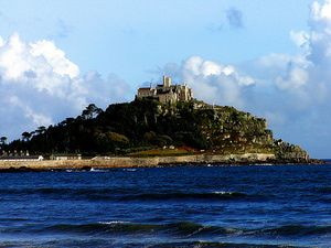 Cornwall - Where You Can Take a Castle Break Between Dodging Breakers: St Michael's Mount