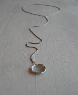 wonderfull necklace for your bridesmaids. I can add a pearl for a nice extra bling. This loope will fit anybody...  Starts at $45,-