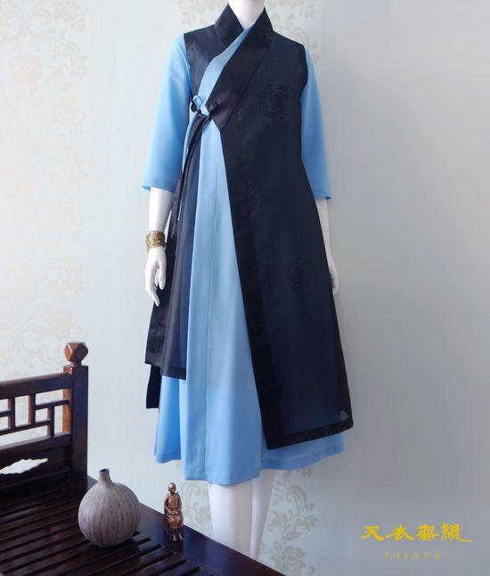 천의두루원피스 위에 천의반비 (천의무봉 생활한복) : 네이버 블로그