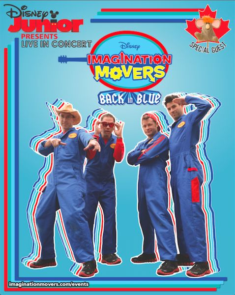 The Imagination Movers are on tour across Canada! Enter to WIN a iMovers prize pack and Family Tickets to a show now. www.MyBabyStuff.ca