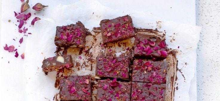 Ruusuiset rocky roadit