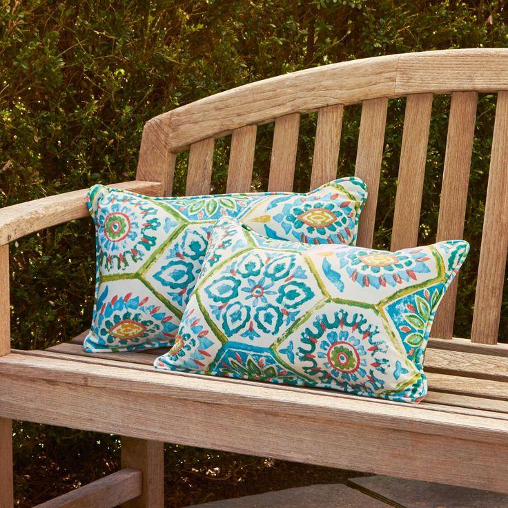 Alina Rectangle Outdoor Pillow