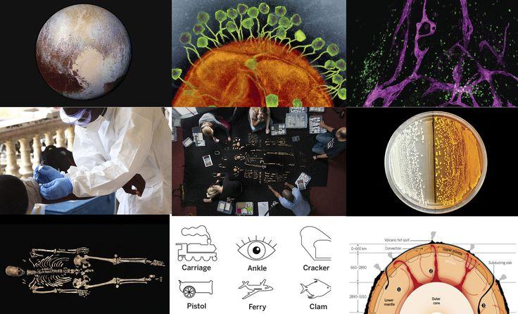 Como cada año, la prestigiosa revista Science ha publicado la lista de los diez descubrimientos más importantes del año. Entre los más destacados se encuentran la llegada a Plutón, la herramienta para modificar el ADN, la primera vacuna contra el ébola y el descubrimiento de una nueva especie de homínido.