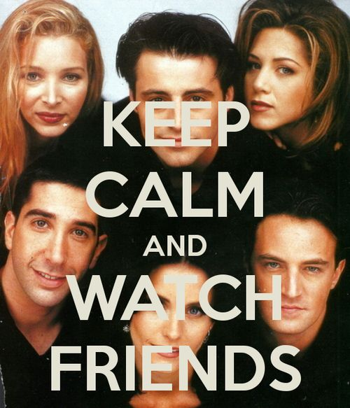 Friends can make even the worst day seem better! OMG I'm watching now!! Favorite show!!