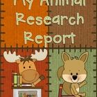 This product includes everything a student will need to write a research report on an animal. You will only need to print the pages, give the students the resources to find the information, and have students bind the pages into a book.