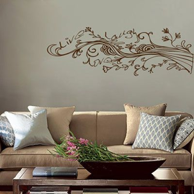 Best Family Tree Wall Paintings Images On Pinterest Tree - How do i put on a wall decal