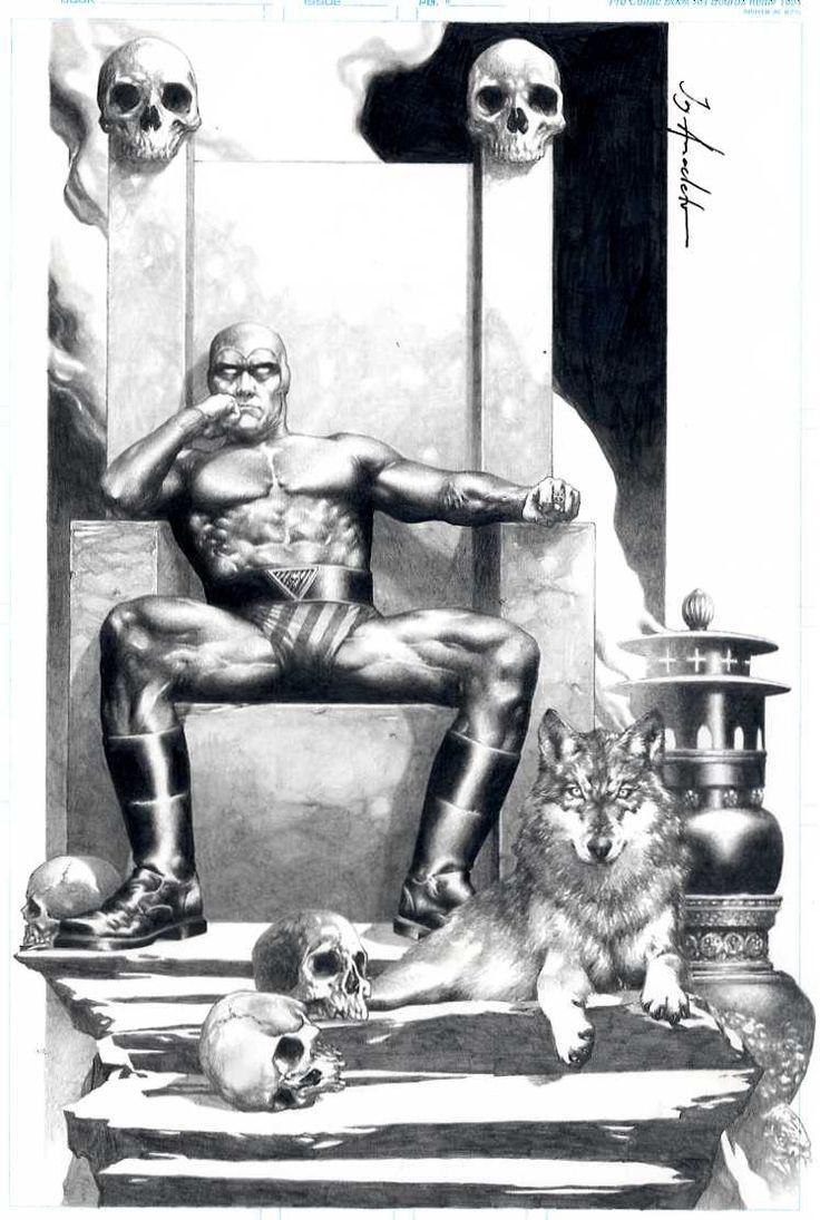 Jay Anacleto The Phantom Comic Art