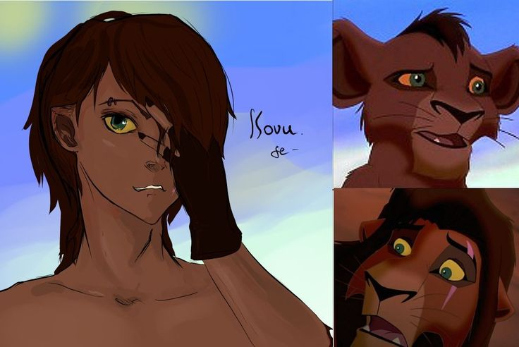 Kovu (Lion King 2) Humanized | Human Form, Anime Form or ...