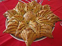 Una stella di pane come centrotavola natalizio |maniamorefantasia blog