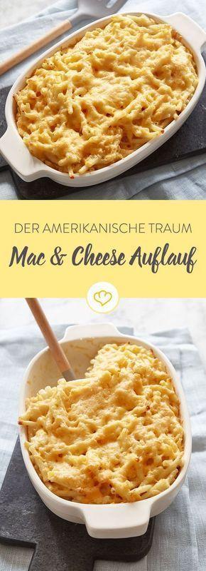 Der amerikanische Traum: Mac & Cheese-Auflauf