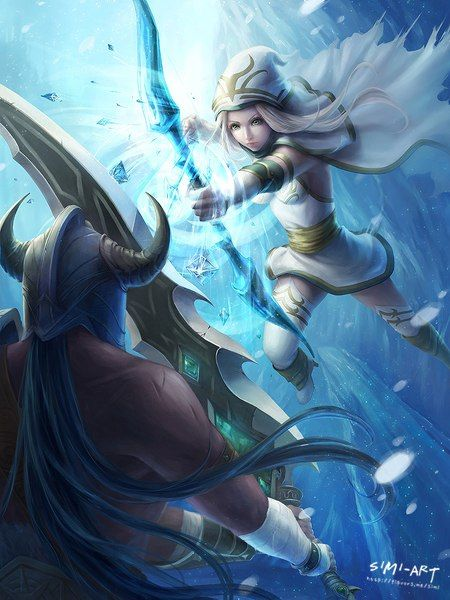 Ashe vs Her Husband Tryndamere // League of Legends