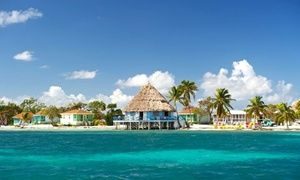 Groupon - 4- or 7-Night Stay for Two in Cabana with Meals & Transfers at Blackbird Caye Resort. Starting at $ 899; $449.50/Person. in Turneffe Atoll, Belize. Groupon deal price: $899