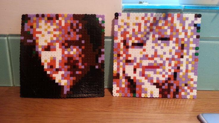 IKEA Pyssla pixel art