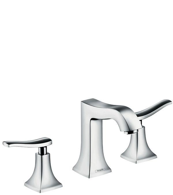 Metris Classic Смесители для раковины: с двумя рукоятками, хром, Арт. № 31073000 #hansgrohe #смесители #душ #sclux #интерьер