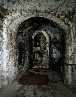 Medieval tunnels Dover Castle, Kent, UK. Creepy!!