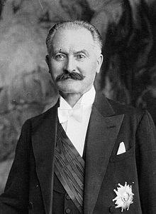 Albert Lebrun (1871-1950), 15e président de la République française du 10 mai 1932 au 11 juillet 1940.