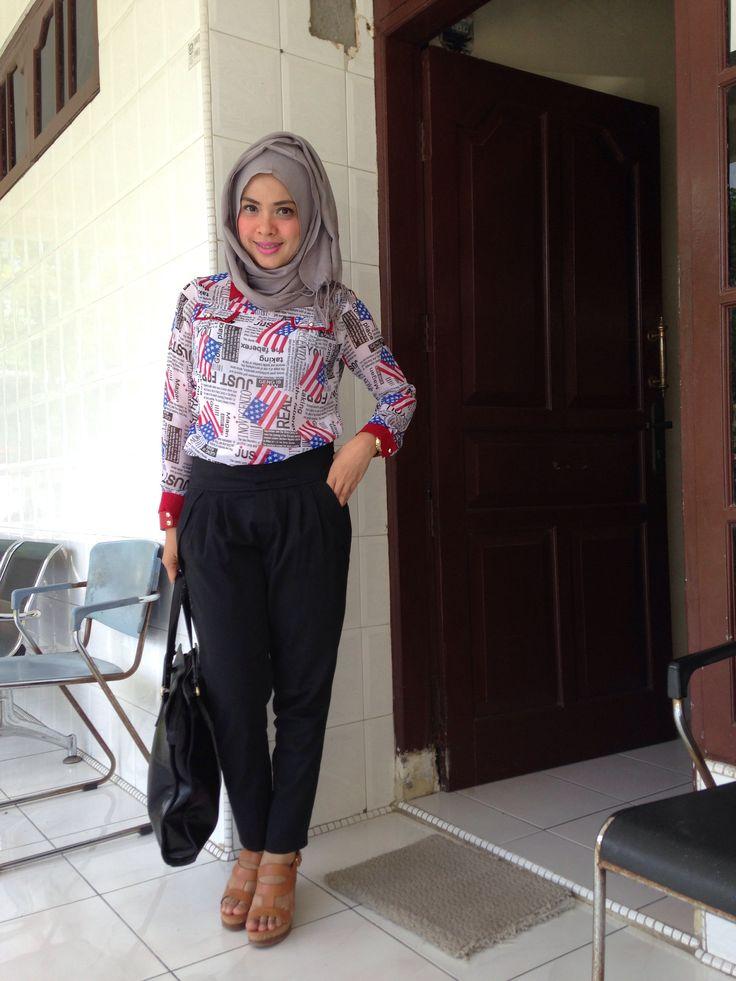 25 Best Hijab Fashion Casual Ideas On Pinterest Hijab