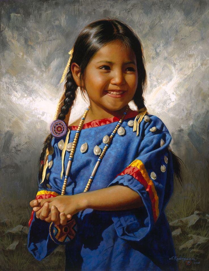 Blue Sky  ~ Alfredo Rodriguez  This little girl looks like my daughter Ellie
