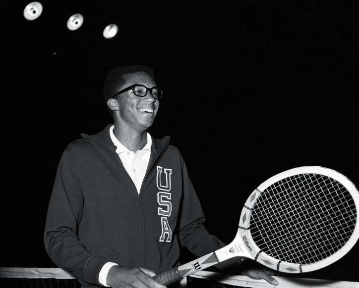 February 6 1993 Arthur Ashe Dies Tennis Legend Arthur Ashe The Only African American To Win The Singles Title Today In History Tennis Legends Arthur Ashe