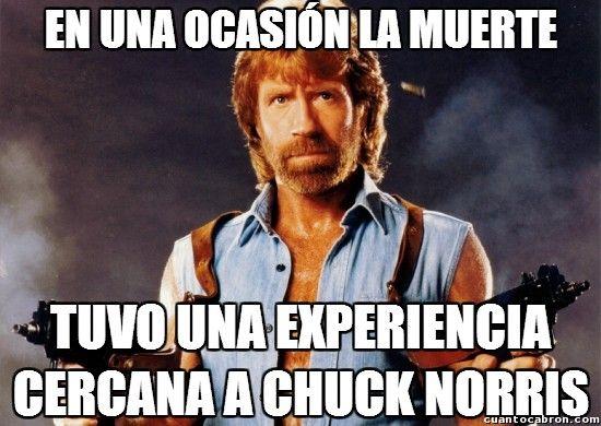 Resultado de imagen para memes de chuck norris en español