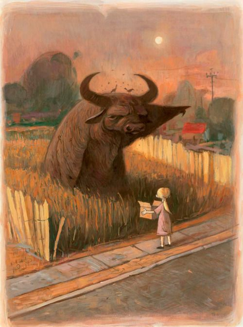 from 'Tales from Outer Suburbia' by Shaun Tan.