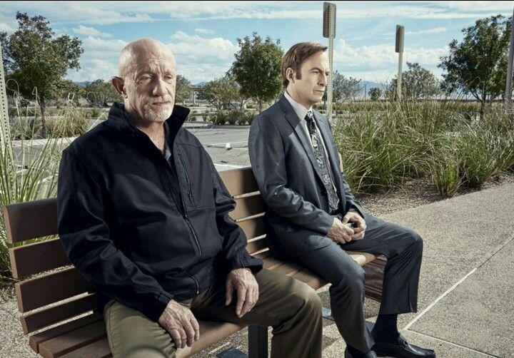 Mike and Saul--Better Call Saul