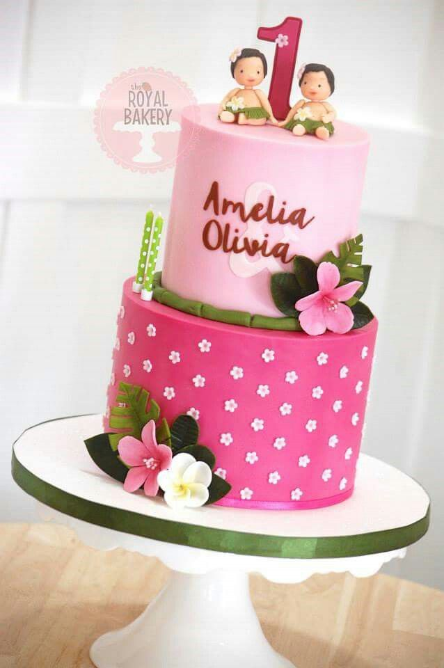 17 best Twin girl birthday cakes images on Pinterest Biscuits