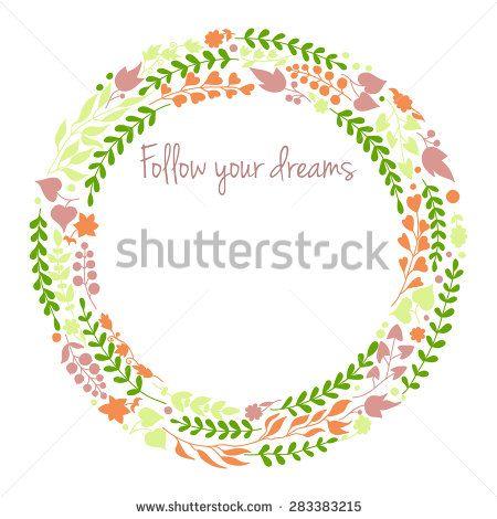 Hand drawn background - stock photo