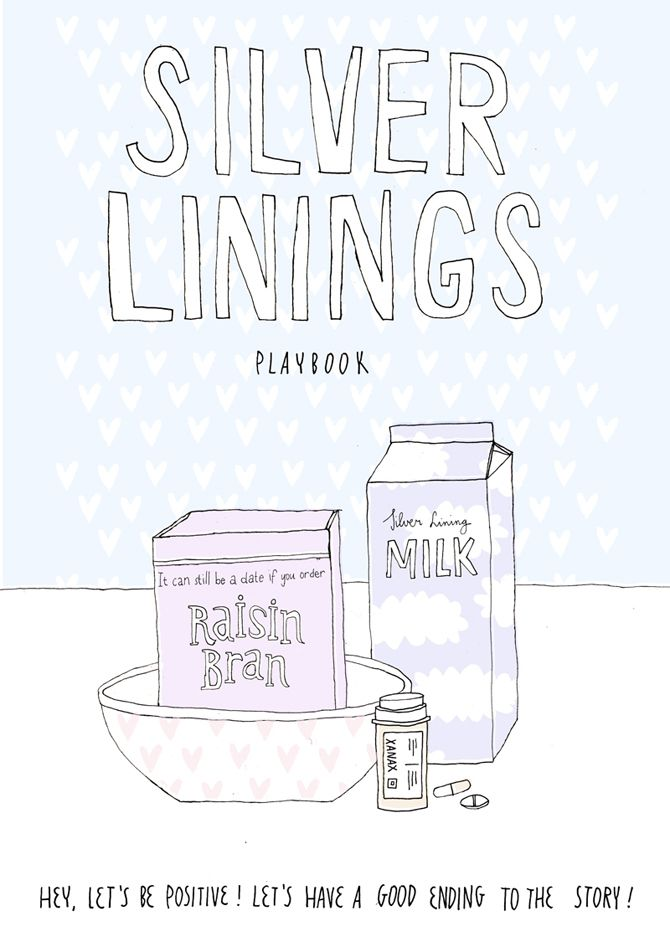 Made by Marianne Lock / Alternative Movieposter / Silver Linings Playbook / Film / Poster / FOR SALE