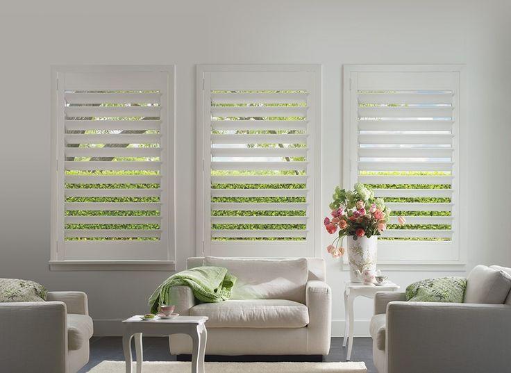 19 best home plantation shutters images on pinterest for Alternative to plantation shutters