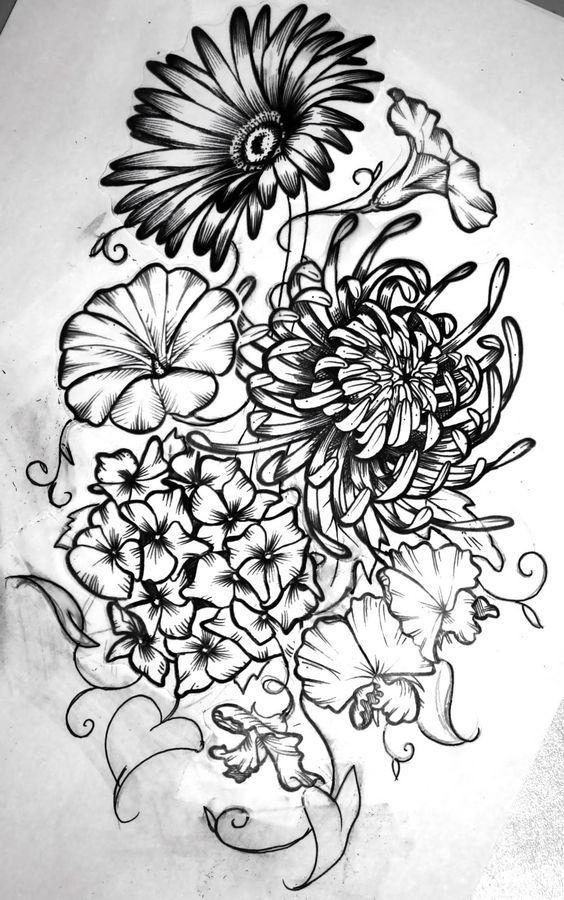 Birth Flower Tattoos: 28 Best October Birth Flower Tattoo Amazing Images On